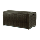 resin wicker deck box dbw7300