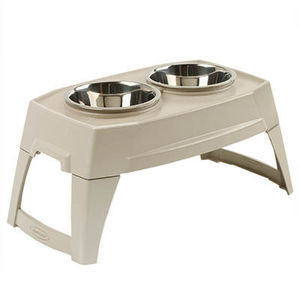 elevated pet feeder 6 bowls pft600