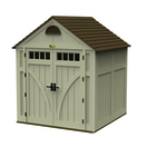 7 x 7 blow molded storage shed