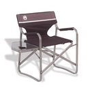 portable deck chair with table