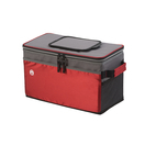 coleman 36 can collapsible chest cooler red