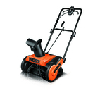 worx 18 snow thrower 13 amp electric