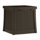 suncast wicker pattern side table