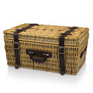 picnic time basket carnaby st. plaid