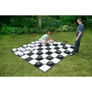 giant checkers with mat