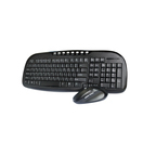 borne wireless mouse and multimedia keyboard combo