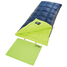 coleman heaton peak tall cool weather sleeping bag navy lime