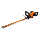 worx 24 cordless hedge trimmer 56v li ion 1.5hr charger 3 4 cutting diameter