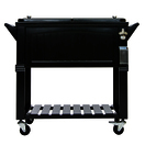 permasteel patio cooler furniture style 80 qt black out of stock until spring 2020