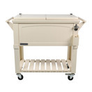 permasteel patio cooler furniture style 80 qt cream out of stock until spring 2020