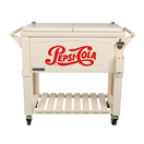 permasteel patio cooler pepsi cola styling 80qt white