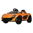kool karz mclaren electric ride on orange
