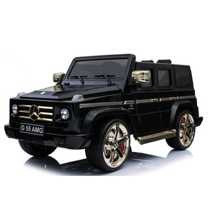 Kool Karz Mercedes Benz G55 AMG Electric Special Edition Ride On Toy Car- Black and Gold