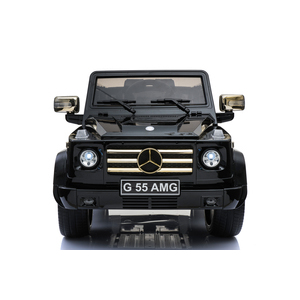 kool karz mercedes benz g55 amg electric special edition ride on toy car black and gold