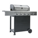 kenmore 4 burner plus side burner with stainless steed lid grill