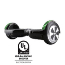 6.5 inch hoverboard with front light and bluetooth ul2272 certified black