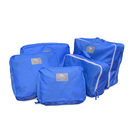 nucolor 5 piece travel organizer blue out of stock