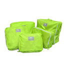 nucolor 5 piece travel organizer green out of stock
