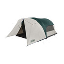 coleman 6 person screened cabin full fly evergreen