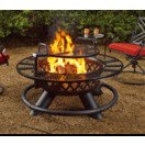 47 fire pit with grill function