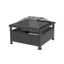 out of stock 34 square fire pit