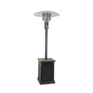 out of stock patio heater with tile tabletop